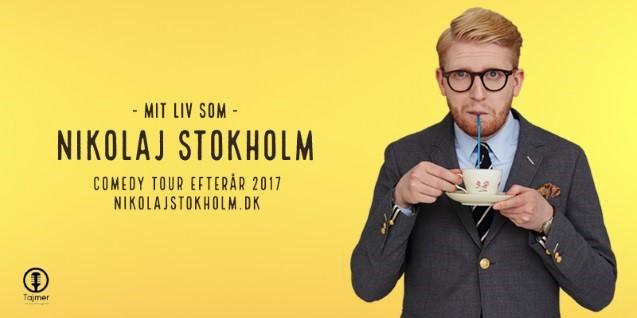 <b>Få billetter:</b> Mit liv som Nikolaj Stokholm