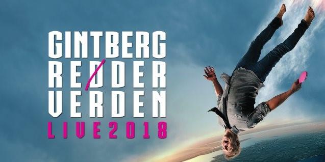 <b>Udsolgt:</b> Gintberg reder verden - LIVE 2018