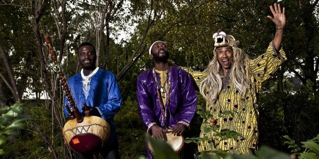 Kamæleon koncert: Moussa Diallo Trio - i Svaneke