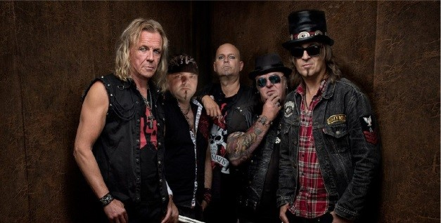 Pretty Maids + support: Junkyard Drive