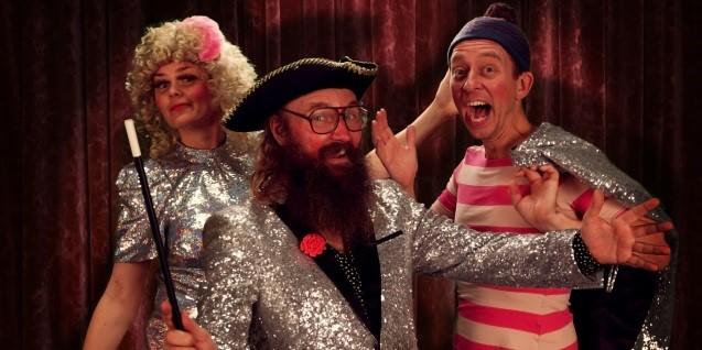 <b>Udsolgt:</b> Onkel Reje & Brilles Mega Store Magiske Trylleshow
