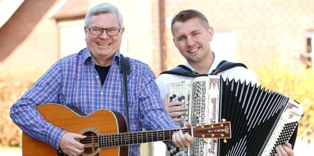Peter Vesth og Kristian Rusbjerg