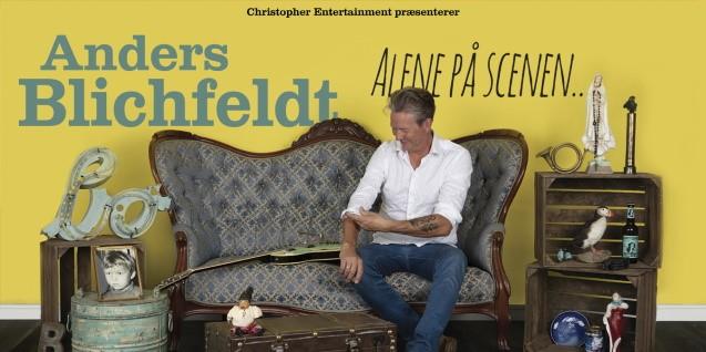 Anders Blichfeldt - Alene på scenen