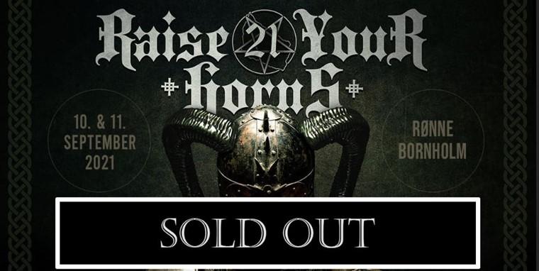 UDSOLGT - Raise Your Horns - Metal Festival