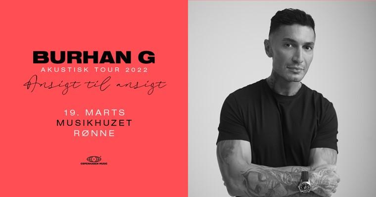 NY DATO: Burhan G - akustisk tour