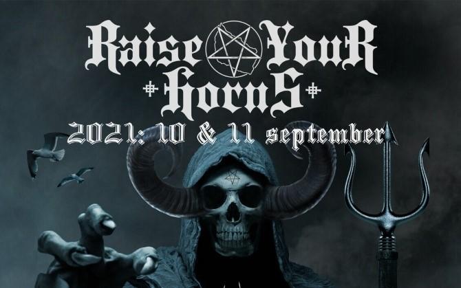 Raise Your Horns - Metal Festival - 10. + 11. september
